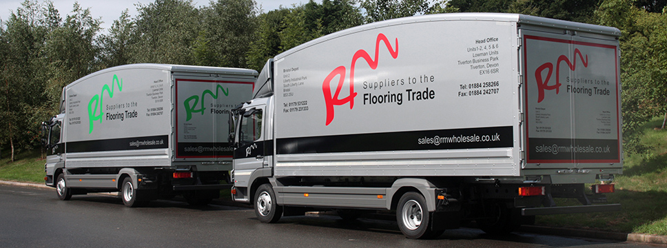 RM Flooring contract trucks