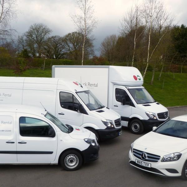 Western Truck Rental vehicle fleet